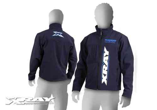 XRAY 396021XL - Luxury Team Softshell Jacket - Size XL - dark blue