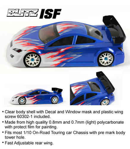 BLITZ 60111-07 - ISF - 200mm Touring Body - LIGHTWEIGHT 0.7