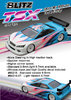 BLITZ 60216-05 - TSX - 190mm Tourenwagen Karosserie - ULTRA LIGHTWEIGHT 0.5