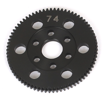Team Titan 54074 -  48dp CNC Spur 74T - ARC / XRAY