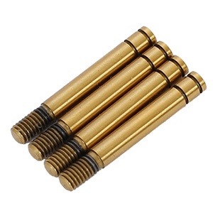 ARC R109039 - R10 2015 Shock Shaft short - Ti- coated (4 pieces)