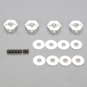 ARC R109046 - R10 2015 Wheel Hub Set incl. Shims - Hex -0.75mm