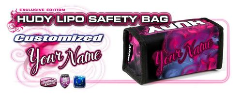 HUDY 199270 - LiPo Bag - customized with your name!