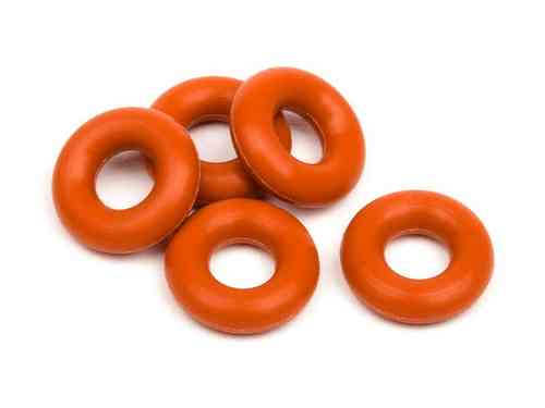 HPI 6819 - Sport 3 Silicone O-Ring P-3 - Red (5)