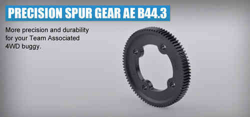 Revolution Design 0261-81 - Precision Spur Gear 48dp 81T - Asso B44.3