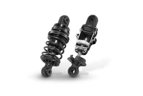 XRAY 308307-K - T4 ALU SHOCK ABSORBER-SET - BLACK (2)
