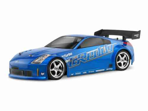 HPI 17518 - Nissan 350Z Greedy TwinTurbo Karosserie - 200mm [GT Challenge legal!]