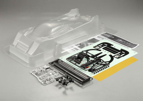 "KillerBody 48394 - Lancia LC2 Body - clear - with ""All-In-Kit"" - 1/12 PanCar"