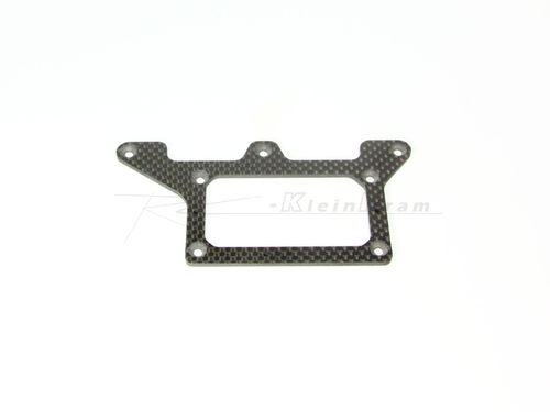 XRAY 371150 - X12´16 Carbon Rear Pod Lower Plate - 2.5mm