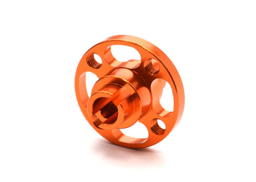 Exotek 1541 - Sport 3 Alu Spur Gear Mount - ORANGE