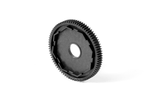 XRAY 365881 - XB4 2016 - Composite Spur Gear for 3-Pad Slipper - 48dp - 81T