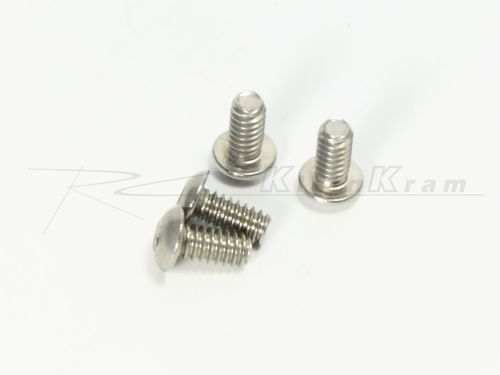 CRC 1434 - Xti-WC - 1/4 x 4-40 BH Roundhead Screws