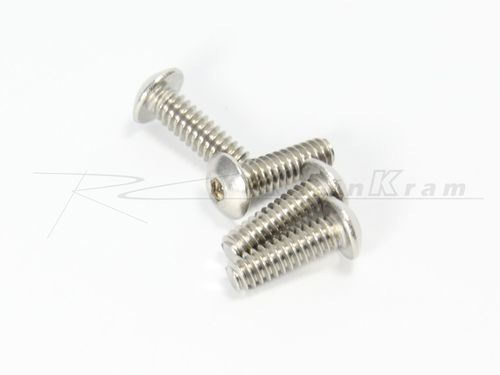 CRC 1436 - Xti-WC - 3/8 x 4-40 BH SS Roundhead Screws