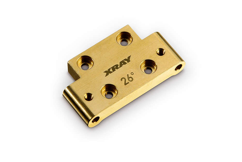 Xray 322312 Xb2 Brass Front Lower Arm Mount Rc Kleinkram Stefan