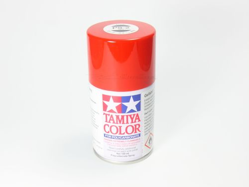 Tamiya 86002 - PS-2 Polycarbonat Spray - ROT - 100ml