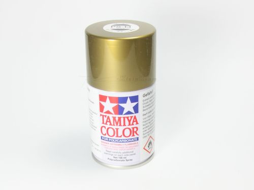 Tamiya 86013 - PS-13 Polycarbonat Spray - GOLD - 100ml