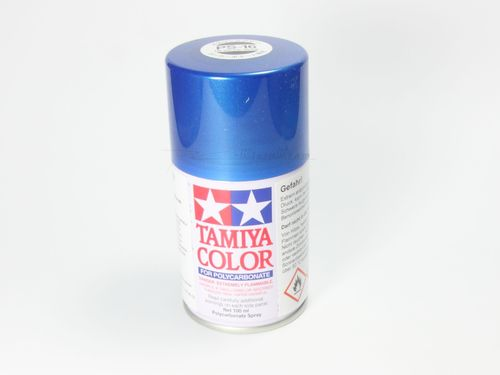 Tamiya 86016 - PS-16 Polycarbonat Spray - METALLIC BLAU - 100ml