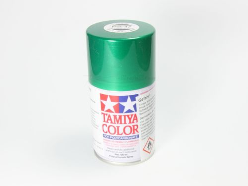 Tamiya 86017 - PS-17 Polycarbonat Spray - METALLIC GRÜN - 100ml