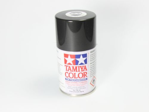 Tamiya 86023 - PS-23 Polycarbonat Spray - GUN METALL GRAU - 100ml