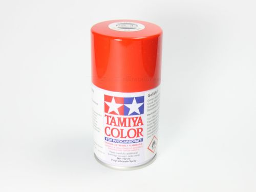 Tamiya 86034 - PS-34 Polycarbonat Spray - BRIGHT ROT - 100ml