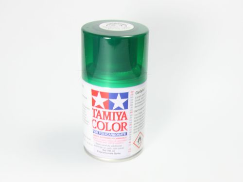Tamiya 86044 - PS-44 Polycarbonat Spray - TRANSLUCENT GRÜN - 100ml