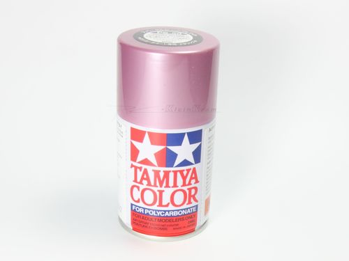 Tamiya 86050 - PS-50 Polycarbonat Spray - ALUMINIUMEFFEKT ROT - 100ml