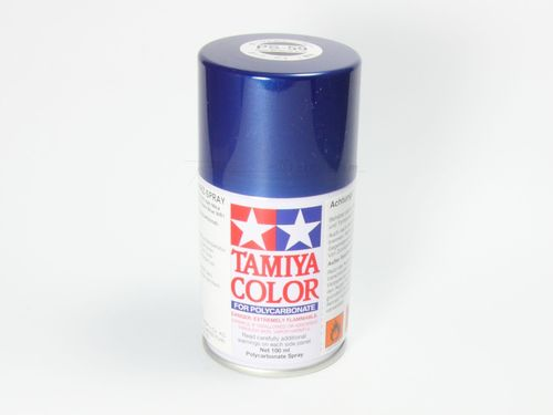 Tamiya 86059 - PS-59 Polycarbonat Spray - DUNKELBLAU METALLIC - 100ml