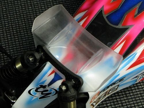 H-Speed HSPX010 - Polycarbonate Front Wing Set for 1:10 Buggy (70mm + 85mm)