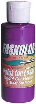 Parma 40108 - Faskolor Fasflourescent - Airbrush Paint - VIOLET - 60ml