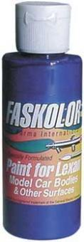 Parma 40306 - Faskolor Faslucent - Airbrush Farbe - TRANSPARENT BLAU - 60ml