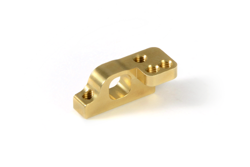 XRAY 303714 - Brass Front Lower 2-Piece Suspension Holder - for ARS - right (+3.6g)