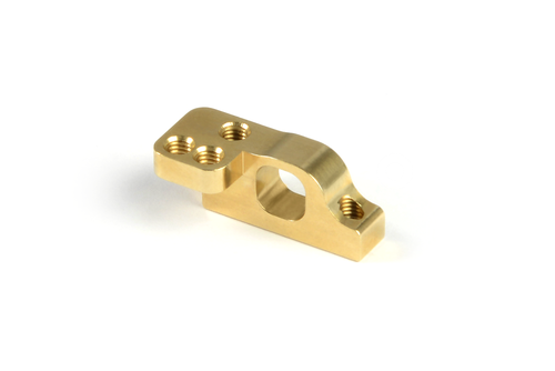 XRAY 303715 - Brass Front Lower 2-Piece Suspension Holder - for ARS - left (+3.6g)