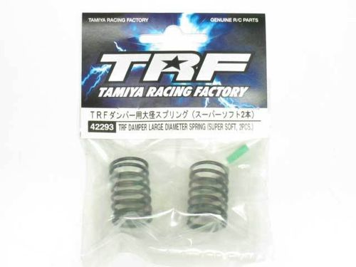 Tamiya 42293 - TRF Touring Car Spring Set - Big Bore - Super Soft - GREEN (2 pcs)