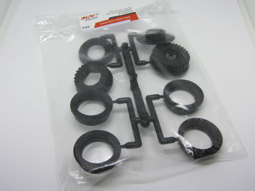 BURI Racer E10P03 - E1 - Set Plastic Parts