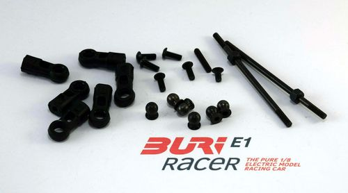 BURI Racer E10016 - E1 - Set Steering rods