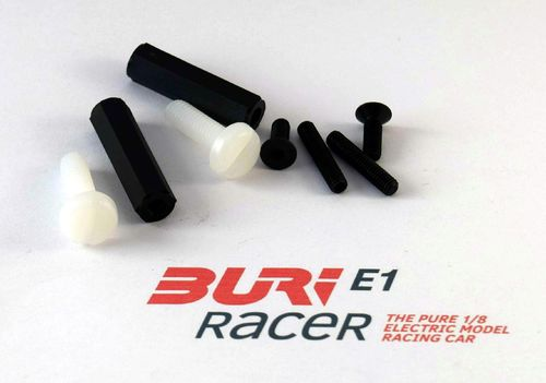 BURI Racer E10006 - E1 - Screw set rear body mount