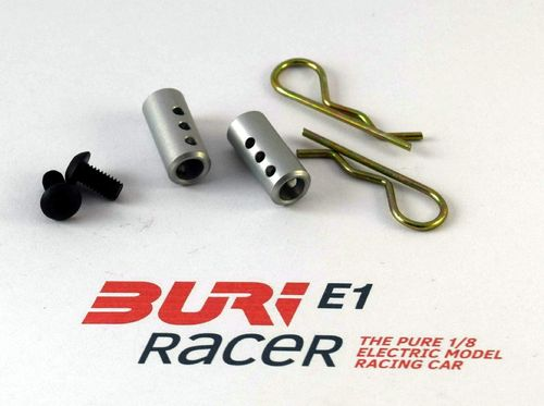 BURI Racer E10007 - E1 - Set body mounts