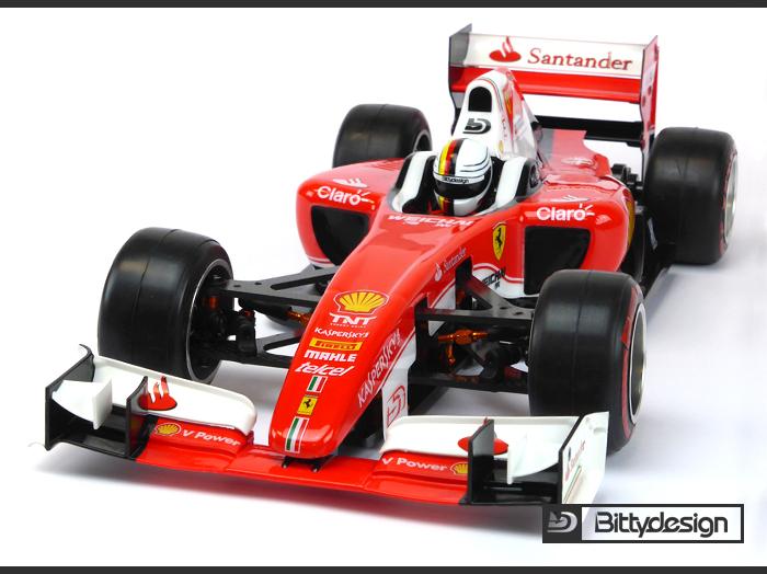 Bittydesign Bdf1 T6c Type 6c F1 Body Set Formula 1