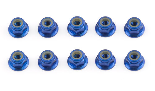 Team Associated 25391 - TC7 - Factory Team Stoppmuttern 4mm blau