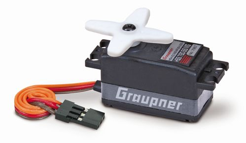 Graupner  7987 - HBS 790 BB MG - HV Brushless Servo - Low Profile