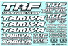 Tamiya 42164 - TRF Decal Set C