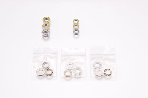 Revolution Design 3083-CL - Ultra Bearing Full Set for XRAY NT1 2015 / 2016 Clutch (3 Sets)