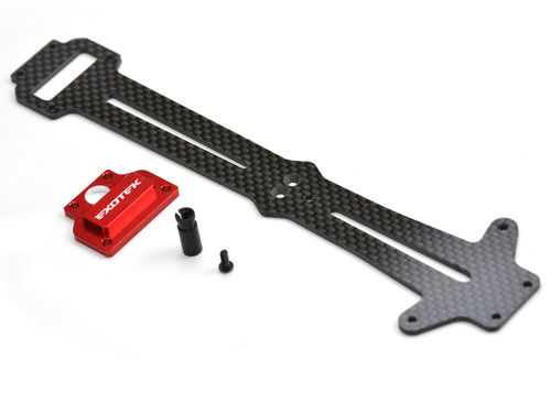 Exotek 1662 - Losi Mini 8ight Rally Carbon Top Plate