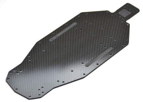 Exotek 1660 - XRAY XB2 Carbon Fiber Bottom Plate 2.5mm