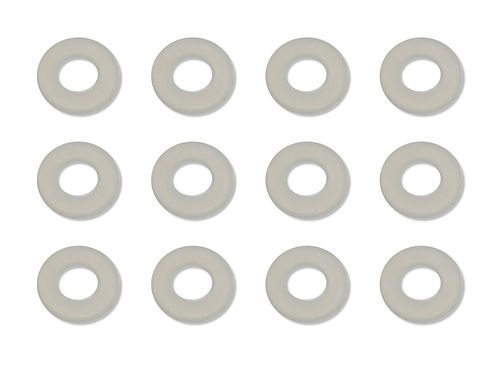 Team Associated 4187 - B6 - Nylon Spacers 1/32 in. (0.030 in.) (12 pieces)