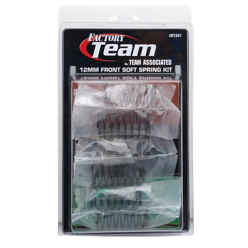 Team Associated 91341 - B6 - 12mm Front Soft Federn Set (3 Paar)