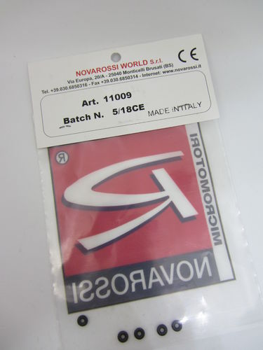 Novarossi 11009 - O-Rings for High Speed Needle (5 pcs)