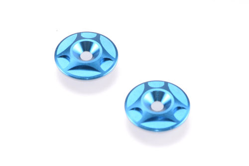Revolution Design 0266-LBL - Buggy Wing Button (2) light blue