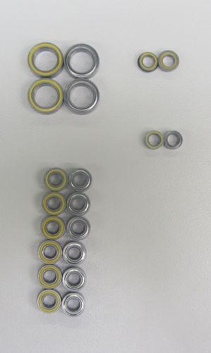 Revolution Design 3141 - Ultra Bearing Set for Tamiya TB Evo 6 / Evo 6 MS (20pcs)