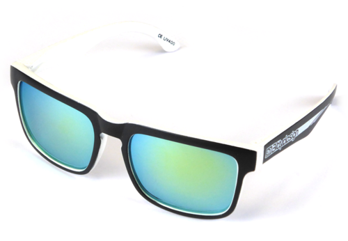 BittyDesign BDSG-CLYW - Claymore Sunglasses - Race White